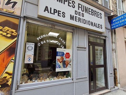 Agence de pompes funèbres Alpes Méridionales à Nice