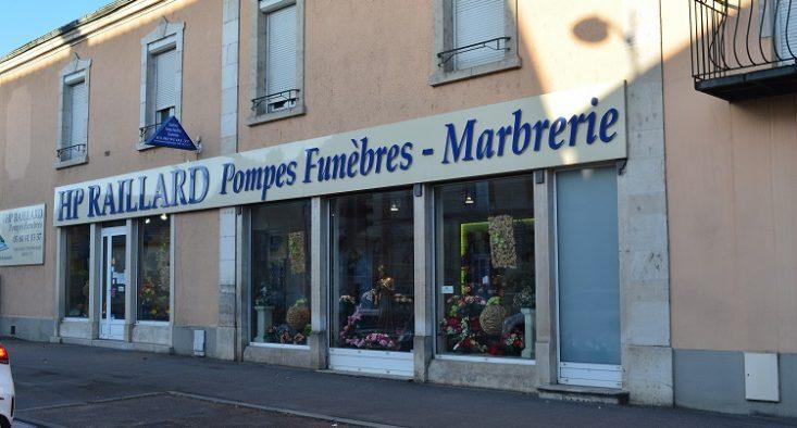 Agence de pompes funèbres HP Raillard à Châtillon-sur-Seine
