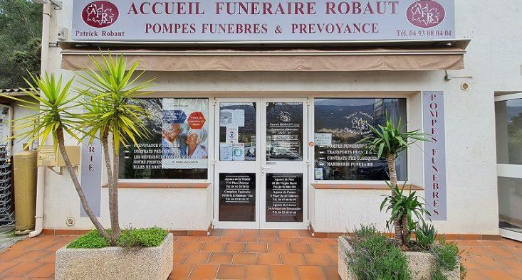 Agence de pompes funèbres Robaut à Colomars
