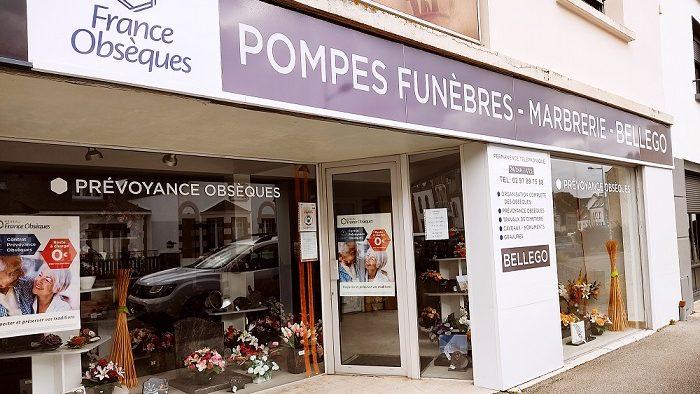 Agence de pompes funèbres Bellego à Etel