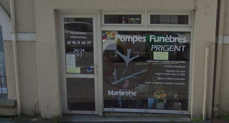 Agence de pompes funèbres Prigent à Landerneau