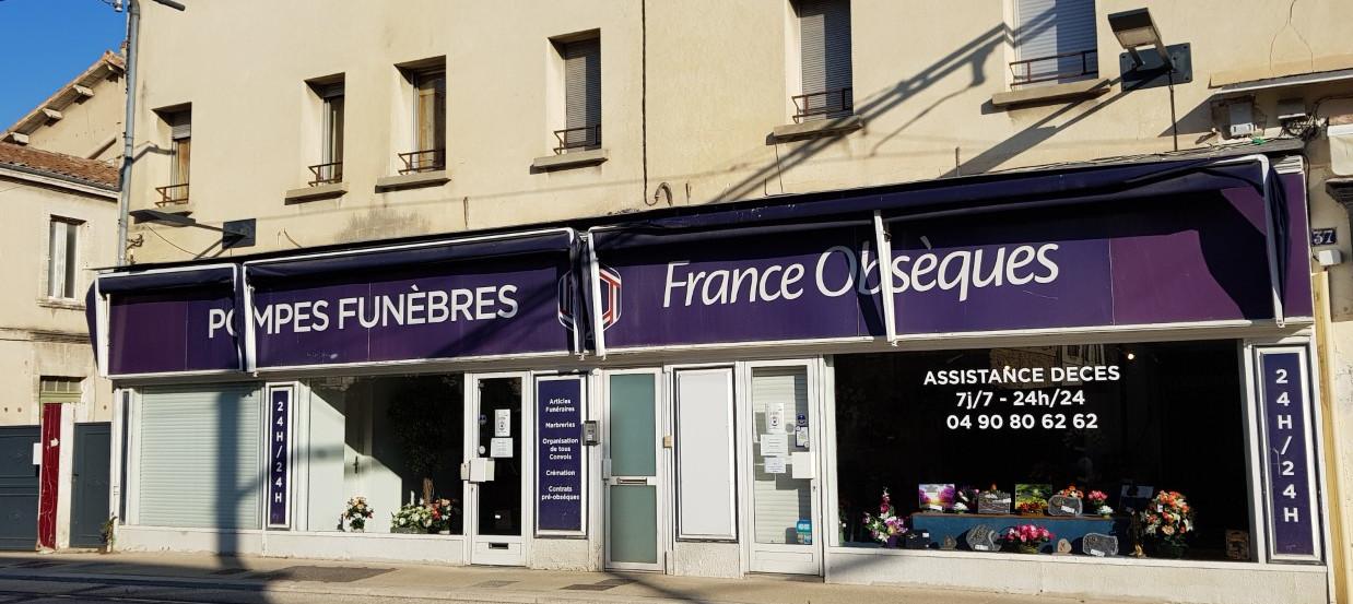 Agence de pompes funèbres France Obsèques à Avignon Saint-Ruf