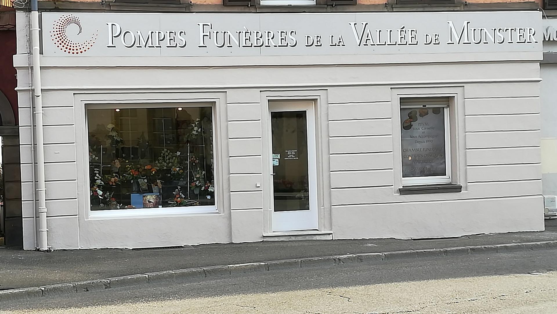 Façade de l'agence de la Vallée de Munster