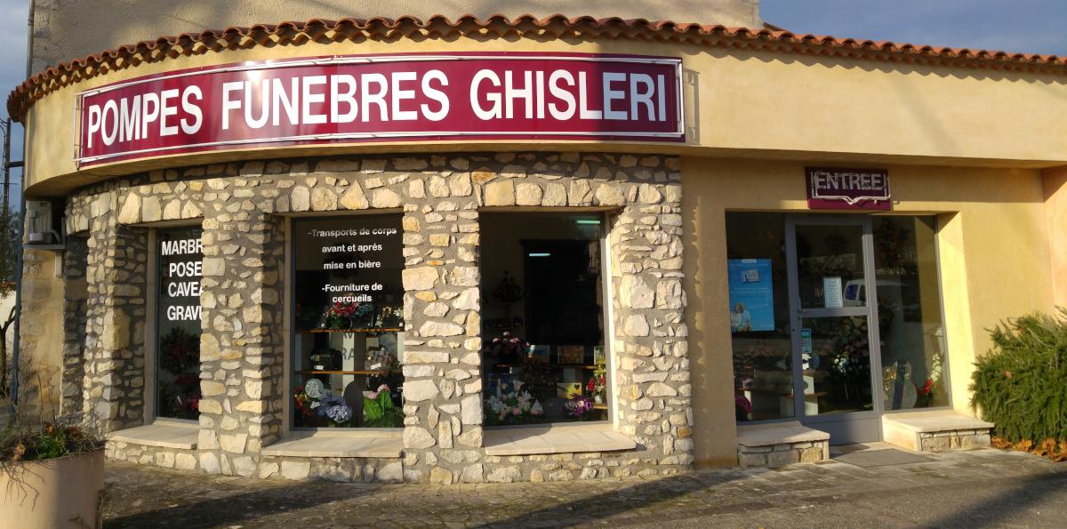 Agene de pompes funèbres Ghisleri à Montélimar