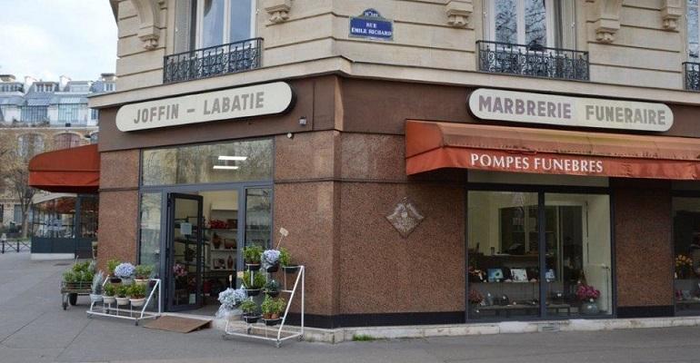 Agence de pompes funèbres Joffin Labatie à Paris