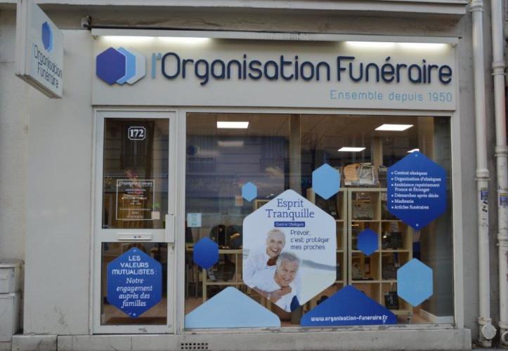 Agence de pompes funèbres L'Organisation funéraire à Paris