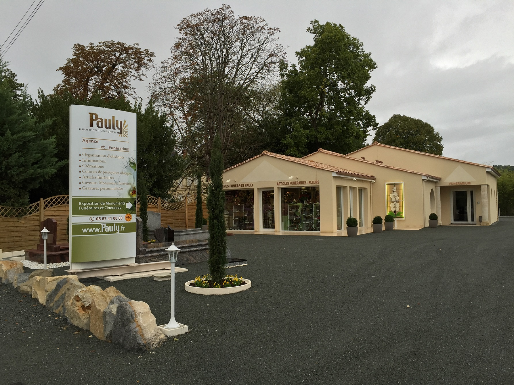 Agence de pompes funèbres Pauly à Pineuilh