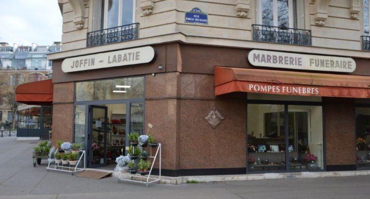 Agence de pompes funèbres Joffin Labatie à Paris 14