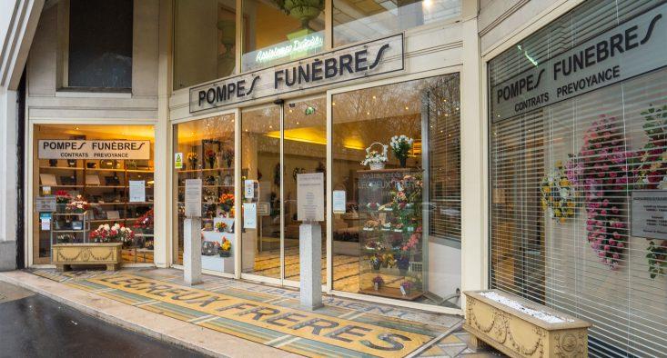 Agence de pompes funèbres Lecreux Frères à Paris 11