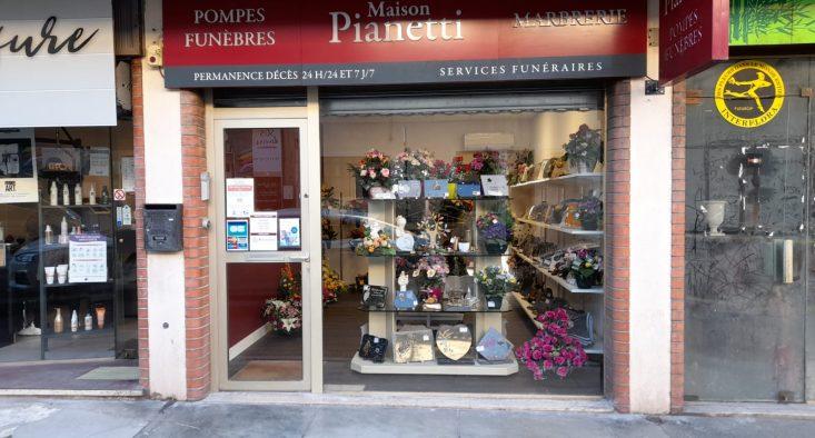 Agence de pompes funèbres Pianetti à Draguignan