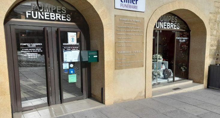 Agence de pompes funèbres Tillier à Bagnols-sur-Cèze