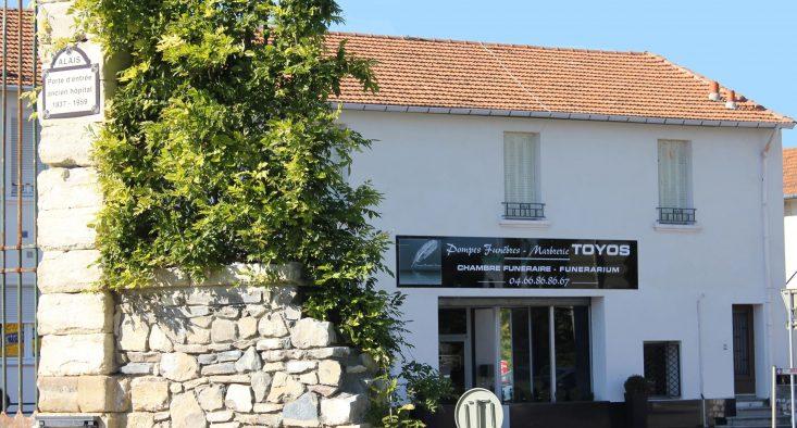 Agence de pompes funèbres Toyos à Alès