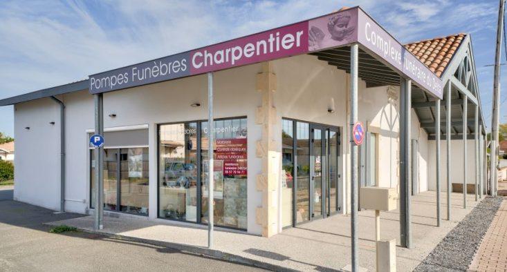Agence de pompes funèbres Charpentier à Biganos