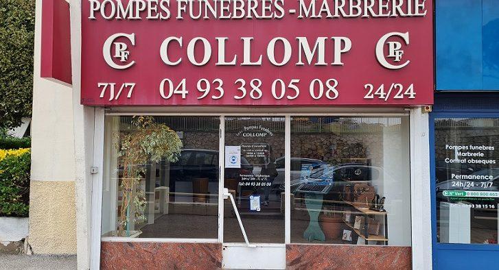 Agence de pompes funèbres Collomp à Cannes