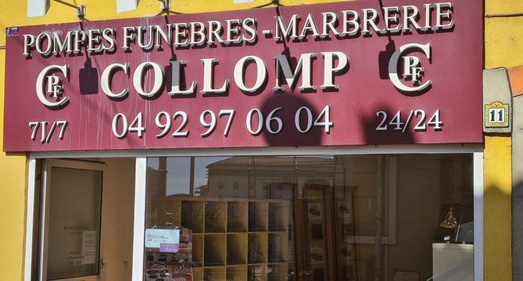 Agence de pompes funèbres Collomp à Mandelieu-la-Napoule