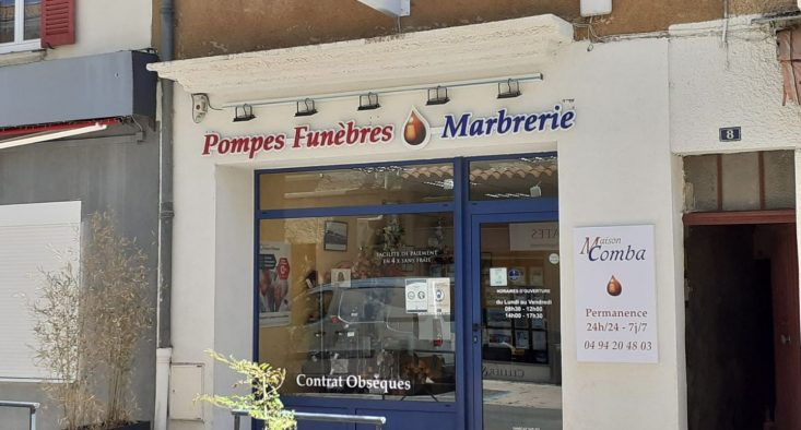 Agence de pompes funèbres Maison Comba à La-Londe-les-Maures