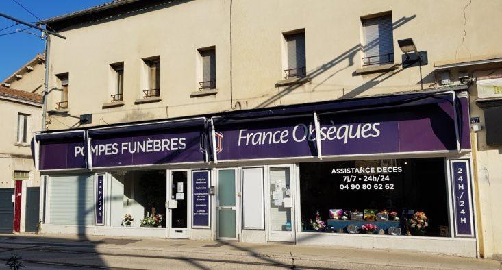 Agence de pompes funèbres France Obsèques à Avignon-Saint-Ruf