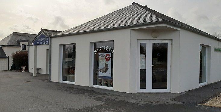 Agence de pompes funèbres Marbrerie Jegard à Plemet Les Moulins