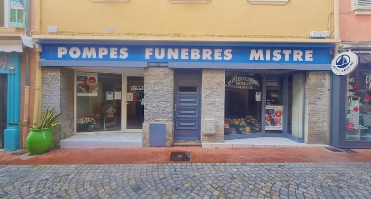 Agence de pompes funèbres Mistre à Sanary-sur-Mer