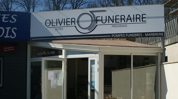 Agence de pompes funèbres Olivier Funéraire à Aiglun