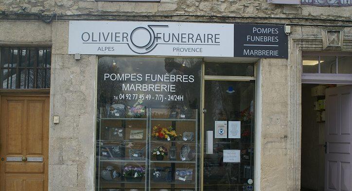 Agence de pompes funèbres Olivier Funéraire à Forcalquier