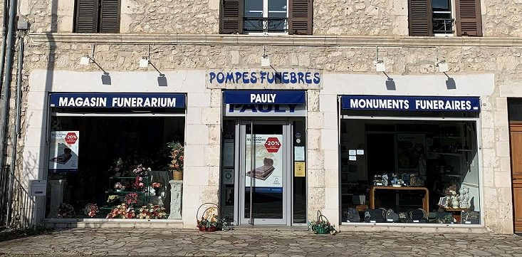 Agence de pompes funèbres Pauly à Eymet