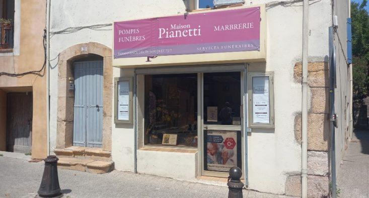 Agence de pompes funèbres Pianetti à Lorgues