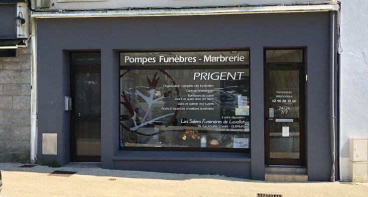 Agence de pompes funèbres Prigent à Gouesnou