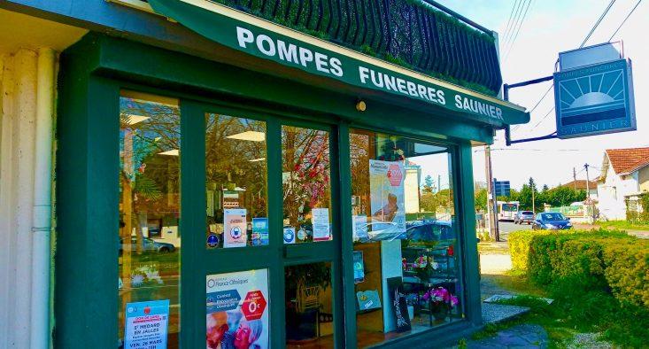 Agence de pompes funèbres Saunier à Saint-Médard-en-Jalles