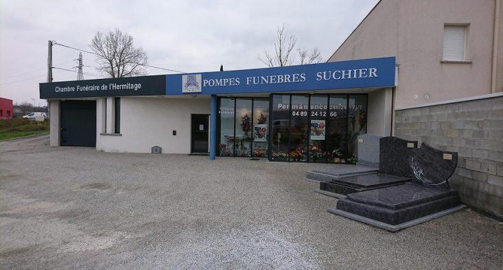 Agence de pompes funèbres Suchier à Mercurol
