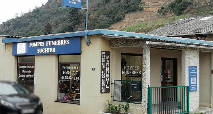 Agence de pompes funèbres Suchier à Tournon-sur-Rhône