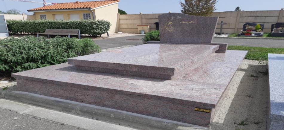 Monument funéraire complexe funéraire Sarasar pompes funèbres Girou à Gargas